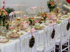 A Series Of Tea-rrific Tea Party Ideas: Tea Party Themes That ...