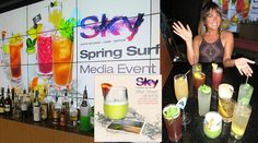 SKY Waikiki introduces new Spring Surf Cocktail Collection