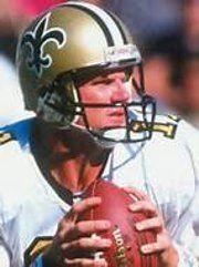 Billy Joe Tolliver, NFL Quarterback Billy Joe Tolliver with the New Orleans Saints