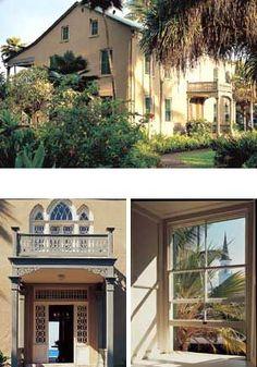 Situated on Ali`i Drive in Kailua - Kona, Hulihe`e Palace was the vacation residence of Hawai`ian royalty.