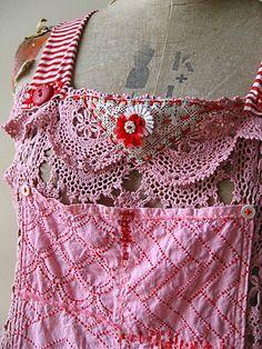 Pretty Pink Pinafore   Flickr - Photo Sharing!