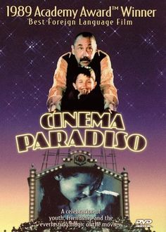Cinema Paradiso (1988) I am so deeply in love with this film ! I need to see this again!