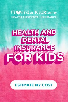 This back-to-school season, check health and dental insurance off your list with our cost calculator.