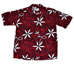 "The ""Elvis Presley / Blue Hawaii"" Vintage Hawaiian Shirt Replica. Made in Hawaii Now available in 100% Rayon this new version features deeper & darker /richer colors and a texture more like the original. Definitely a classic worth owning. The buttons are made of coconut & this new rayon version is the closest thing you'll ever find to the original. Our retro shirts are for today's connoisseur or collector who wants to wear unique piece of apparel art from the Hawaiian islands."