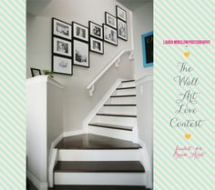 You just can't go wrong with black and white photography in black 'gallery style' frames - the Wall Art Love Contest Finalists :: Laura Winslow Photography »