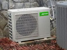 Solar air conditioning operates directly from solar panels during the day and mains power at night. Heat Pump, Conditioning, Solar Panels, Tomorrow Land, Mini, Night, Green, Products, Heat Pump System