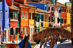 16 Colourful Places In The World For Your Bridal Portraits - The Wedding Notebook magazine Wedding Notebook, You Are The World, Venice Italy, Bridal Portraits, All The Colors, Around The Worlds, Street View, Colours, Island