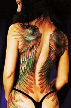 Looking to get a full back tattoo design? Choosing a full back tattoo can be harder them most would think. Unlike other tattoos, full back tattoos take up much of the back, which is the largest area on your body to. Insane Tattoos, 3d Tattoos, Funny Tattoos, Great Tattoos, Sexy Tattoos, Beautiful Tattoos, Body Art Tattoos, Badass Tattoos, Amazing Tattoos