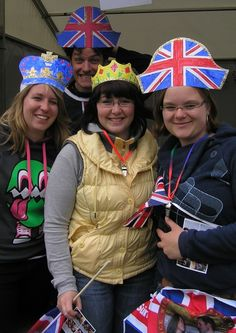 Craft workshops aren't just for kids! Our Make & Do team had everybody involved in making some British themed party props!