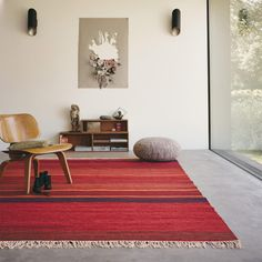 Kashba Delight 48100 Wool Rug by Brink & Campman Red Rugs, Rugs In Living Room, Modern Rugs, Woven Rug, Soft Furnishings, Home Decor, Komfort, Pride, Artisan