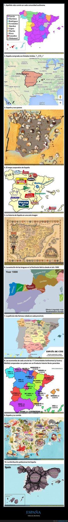 10 mapas de España que no te enseñaron en el colegio - Vista de otra forma   Gracias a http://www.cuantarazon.com/   Si quieres leer la noticia completa visita: http://www.estoy-aburrido.com/10-mapas-de-espana-que-no-te-ensenaron-en-el-colegio-vista-de-otra-forma/