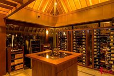 Intercontinental Thalasso Resort & Spa, Bora Bora has the largest wine cellar in French Polynesia!