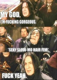 Gorgeous #Snape !