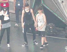 Chanyeol and Baekhyun being weird together