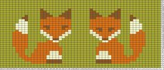 Tricksy Knitter Charts: Foxes by Alicia . Tricksy Knitter Charts: Foxes by Alicia More. Cross Stitch Bookmarks, Cross Stitch Borders, Cross Stitch Animals, Cross Stitching, Cross Stitch Charts, Cross Stitch Embroidery, Cross Stitch Patterns, Fair Isle Knitting Patterns, Knitting Charts
