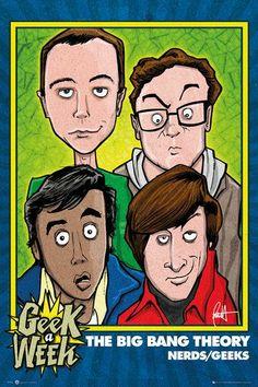 The Big Bang Theory, #nerds #empspain