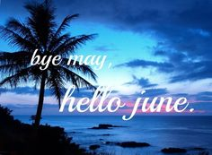 bye may hello june Seasons Months, Days And Months, Seasons Of The Year, Months In A Year, 12 Months, 1 Year, Hello June, Hello Goodbye, Hello Summer