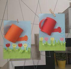 Kindergarten Crafts, Preschool Crafts, Diy And Crafts, Crafts For Kids, Arts And Crafts, Paper Crafts, Anchor Crafts, Diy Toy Box, Animal Art Projects