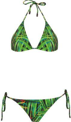 Pin for Later: Kourtney Kardashian Is Totally About to Sell Out This Mara Hoffman Bikini  Osklen Foliage Print Bikini Set ($98)