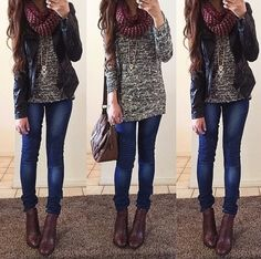 Cute fall winter outfit uploaded by julia on We Heart It College Outfits, Outfits For Teens, School Outfits, Fall Winter Outfits, Autumn Winter Fashion, Winter Clothes, Girl Fashion, Fashion Outfits, Fashion Black