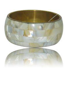 White Brass Kada