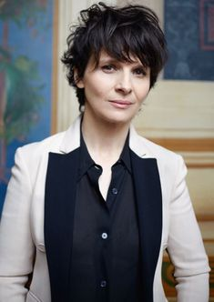 1000+ Images About Hair Ideas On Pinterest | Juliette Binoche Pertaining To The Elegant And Interesting Juliette Binoche Short Hair For Your Hairstyle