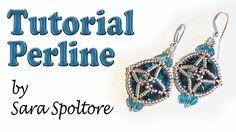 Sarubbest: tutorial orecchini con perline - DIY orecchini - Come fare or...
