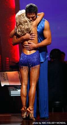 DWTS Season 8 Spring 2009 Chuck Wicks and Julianne Hough