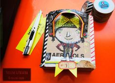 Création du jour de Pauline Deco Originale, Illustrations, Creations, D Day, Objects, Board, Illustration, Illustrators