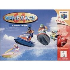 Wave Race 64 - Various companies have produced Jet Ski racing games over the years, but few of those games have made as big of an impact as Nintendo's Wave Race Ever since the game was originally published for the fledgling Nintendo 64 in the fal Xbox 360, Playstation, Nintendo 64 Games, Nintendo N64, Nintendo Switch, Wii, Arcade, Making Water, Ski Racing