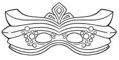 máscaras de carnaval para colorir dicas