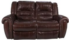 Flexsteel Crosstown Leather Reclining Loveseat | Homemakers Furniture