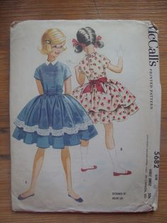 lovely 1960 vintage HELEN LEE mccalls sewing by LittleTicket