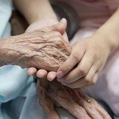 The Power of Touch in Elder Caregiving #elderly #seniors #caregiving #caregiver