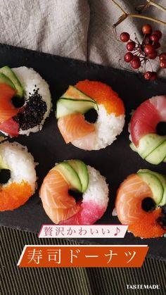 Japenese Food, Sushi Time, Tiny Food, Food Crafts, Creative Food, Food Plating, Asian Recipes, Food Videos, Love Food