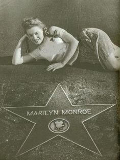 Hollywood Walk Of Fame, Hollywood Stars, Classic Hollywood, Old Hollywood, Divas, Marilyn Monroe Fotos, Cinema Tv, Norma Jeane, Madonna