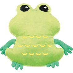 Poduszka FLAT żaba #pillow #frog #kids #dream #gift #prezent  http://www.mojebambino.pl/poduszki-i-przytulanki/6836-poduszka-flat-zaba.html