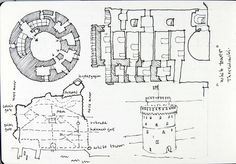 2015-04-24 Thessaloniki - White Tower | Flickr - Photo Sharing! Central Hall, Roman City, Fortification, Thessaloniki, Urban Sketching, 15th Century, Art Sketches, Line Art, Cups