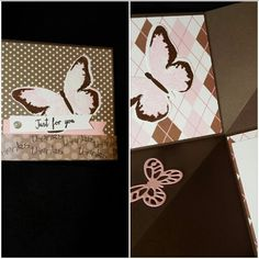 Stampin Up : just for you card