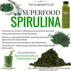 Benefits of spirulina weight loss