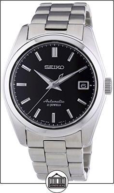 Seiko  Spirit - Reloj de automático para hombre, con correa de acero inoxidable, color plateado de  ✿ Relojes para hombre - (Gama media/alta) ✿