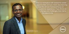 Join Dell, and you'll work in a dynamic environment with other motivated, talented individuals who inspire greatness in their teammates. Never Stop Learning, Career Opportunities, Customer Experience, What Is Life About, Continents, Workplace, Opportunity, Challenges, Meet