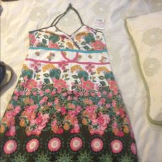 Dress This cool summer dress is great especially with a denim jacket! Too big on top for me. desigual Dresses