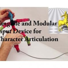 Tangible and Modular Input Device for Character Articulation   Introduction Traditional Skeleton operation with Mouse and keyboard interfaces fall short b. http://slidehot.com/resources/tangible-and-modular-input-device-for-character-articulation.27213/