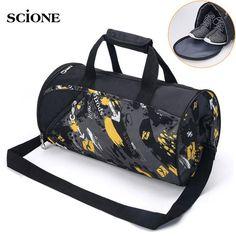 Sports Gym Duffel Barrel Bag Twin Dragons China Japan Cluture Travel Luggage Handbag for Men Women