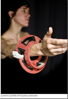 Joshua DeMonte Designed 3D jewelry inspired by Architecture.Join the 3D Printing Conversation: http://www.fuelyourproductdesign.com/