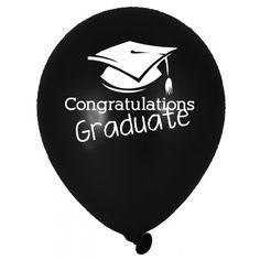 Ballone Abschluss Party 6Stück Congratulations Graduate, Music Instruments, Congratulations For Graduation, Graduation Party Favors, Grown Up Parties, Grad Cap, Graduation Day, Musical Instruments