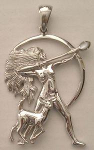 Goddess Diana Artemis Jewelry Silver Nebula Archer Archery Pendant Jdianan | eBay