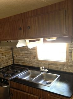 From Nuts to Bolts...My RV Overhaul : Step One: Countertop and Backsplash