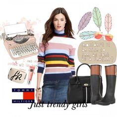 Tommy Hilfiger sweaters and cardigans for women | Just Trendy Girls
